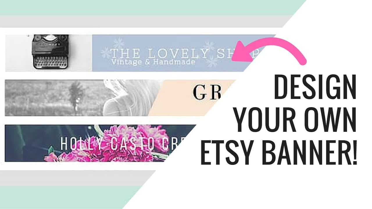 Free Etsy Banner Maker And Easy Tutorial Using Canva With Etsy Banner Template