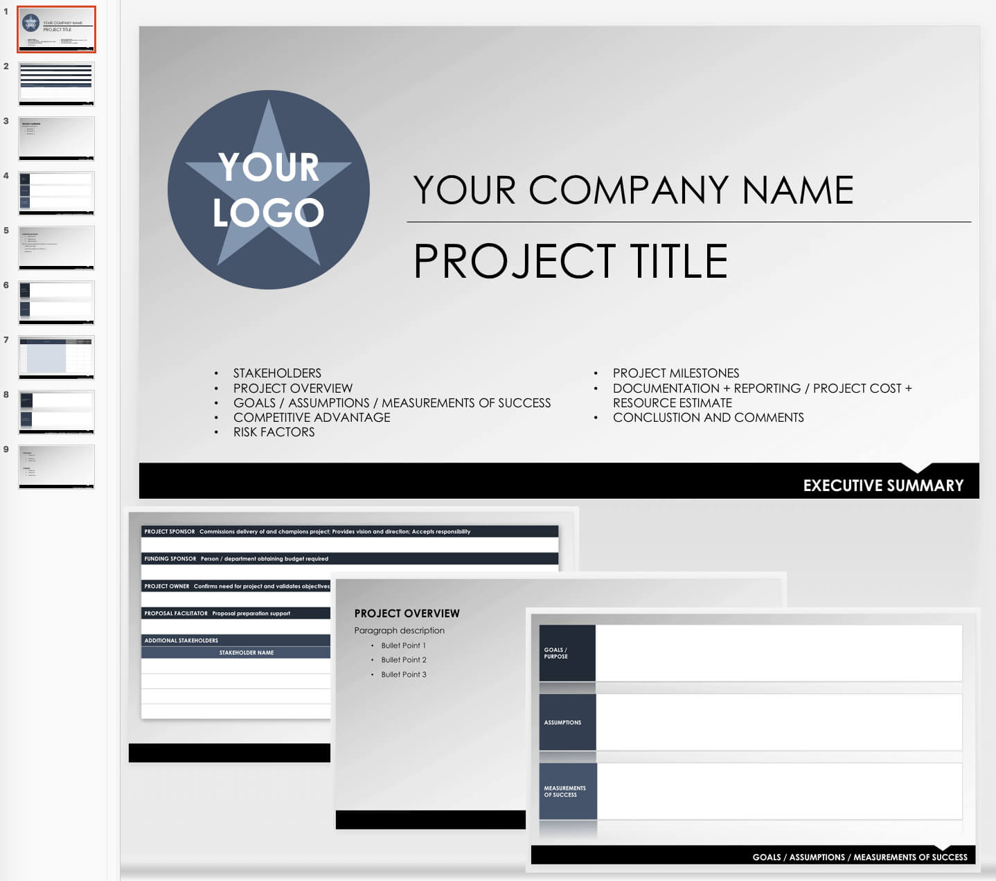 Free Executive Summary Templates   Smartsheet for Report To Senior Management Template
