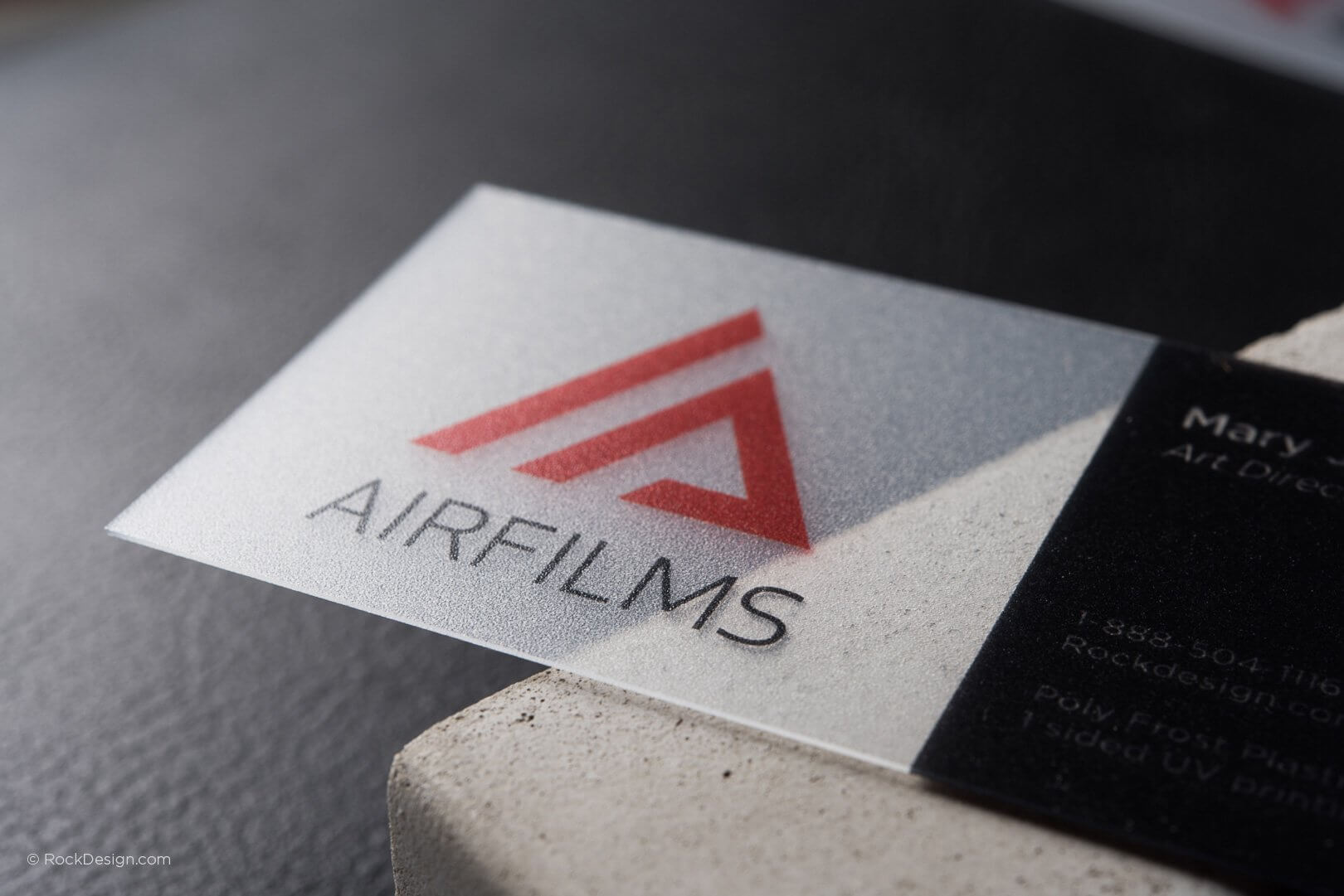 Free Frosted Business Card Templates | Rockdesign within Transparent Business Cards Template