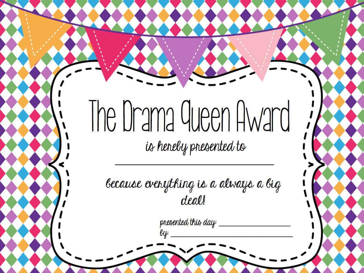 Free Funny Awards! | Fun Awards, Funny Certificates throughout Free Printable Funny Certificate Templates