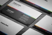 Free Generic Business Card Template On Student Show with Generic Business Card Template