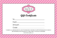 Free Gift Certificate Template Word | Dattstar regarding Microsoft Gift Certificate Template Free Word