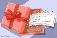 Free Gift Certificate Templates You Can Customize with Present Certificate Templates