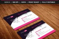 Free-Hair-Stylist-Salon-Business-Card-Template-Psd | Free throughout Hair Salon Business Card Template