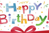 Free Happy Birthday Sign, Download Free Clip Art, Free Clip in Free Happy Birthday Banner Templates Download