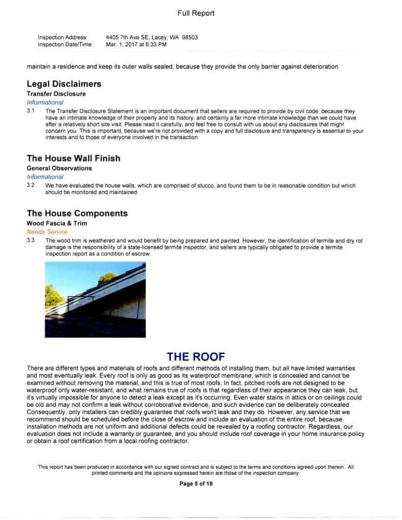 Free Home Inspection Report Form Pdf And Home Inspection in Home Inspection Report Template Pdf