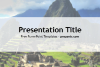 Free Inca Empire Powerpoint Template – Prezentr Powerpoint for Tourism Powerpoint Template