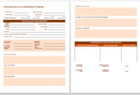 Free Incident Report Templates & Forms | Smartsheet With with Incident Report Template Uk