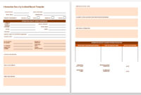 Free Incident Report Templates & Forms | Smartsheet Within pertaining to Incident Report Template Itil