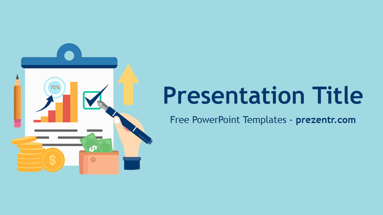 Free Inflation Powerpoint Template - Prezentr Powerpoint Throughout Price Is Right Powerpoint Template