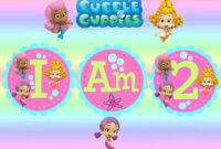 Free Invitations Template Bubble Guppies Invitations with regard to Bubble Guppies Birthday Banner Template