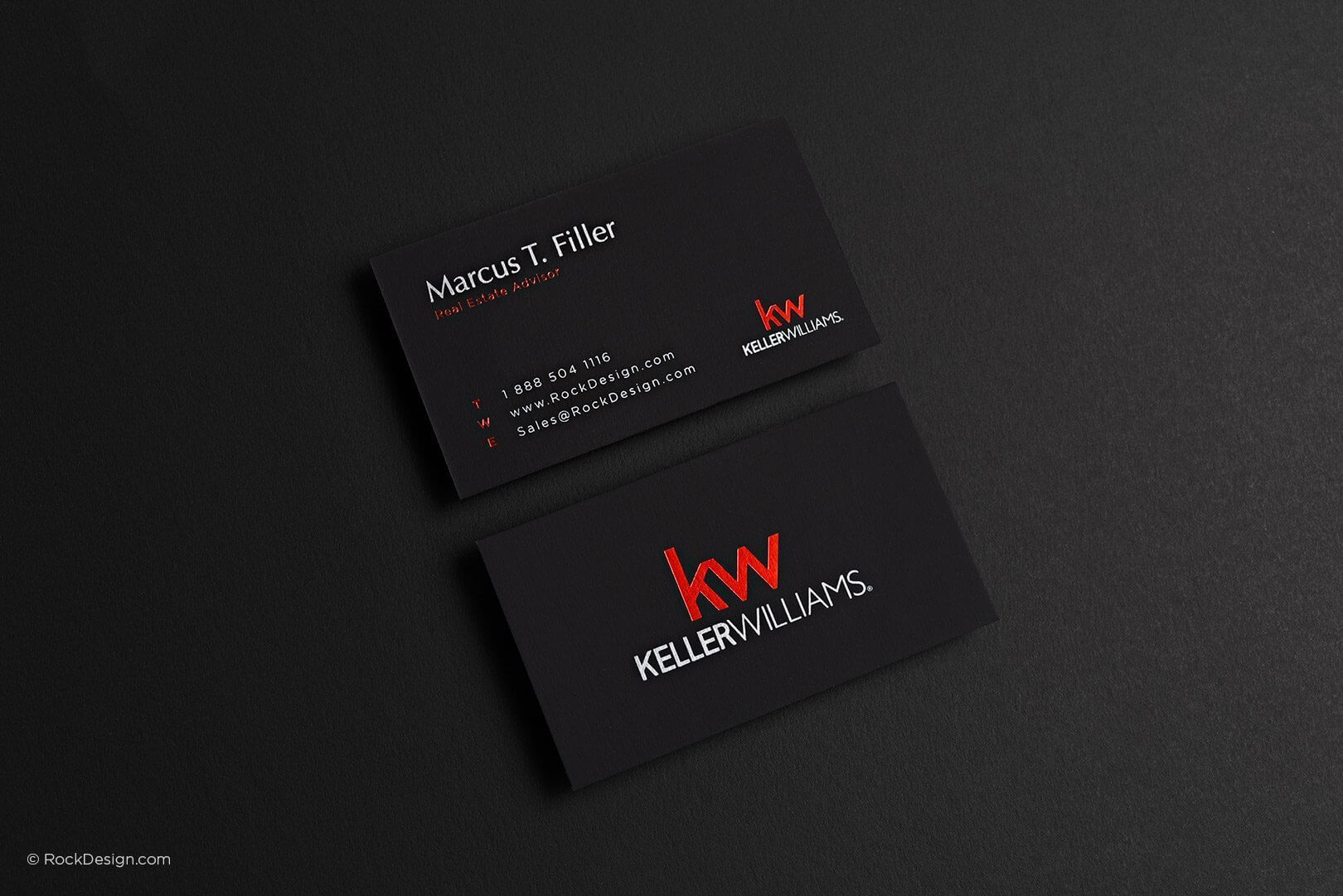 Free Keller Williams Business Card Template With Print With Keller Williams Business Card Templates