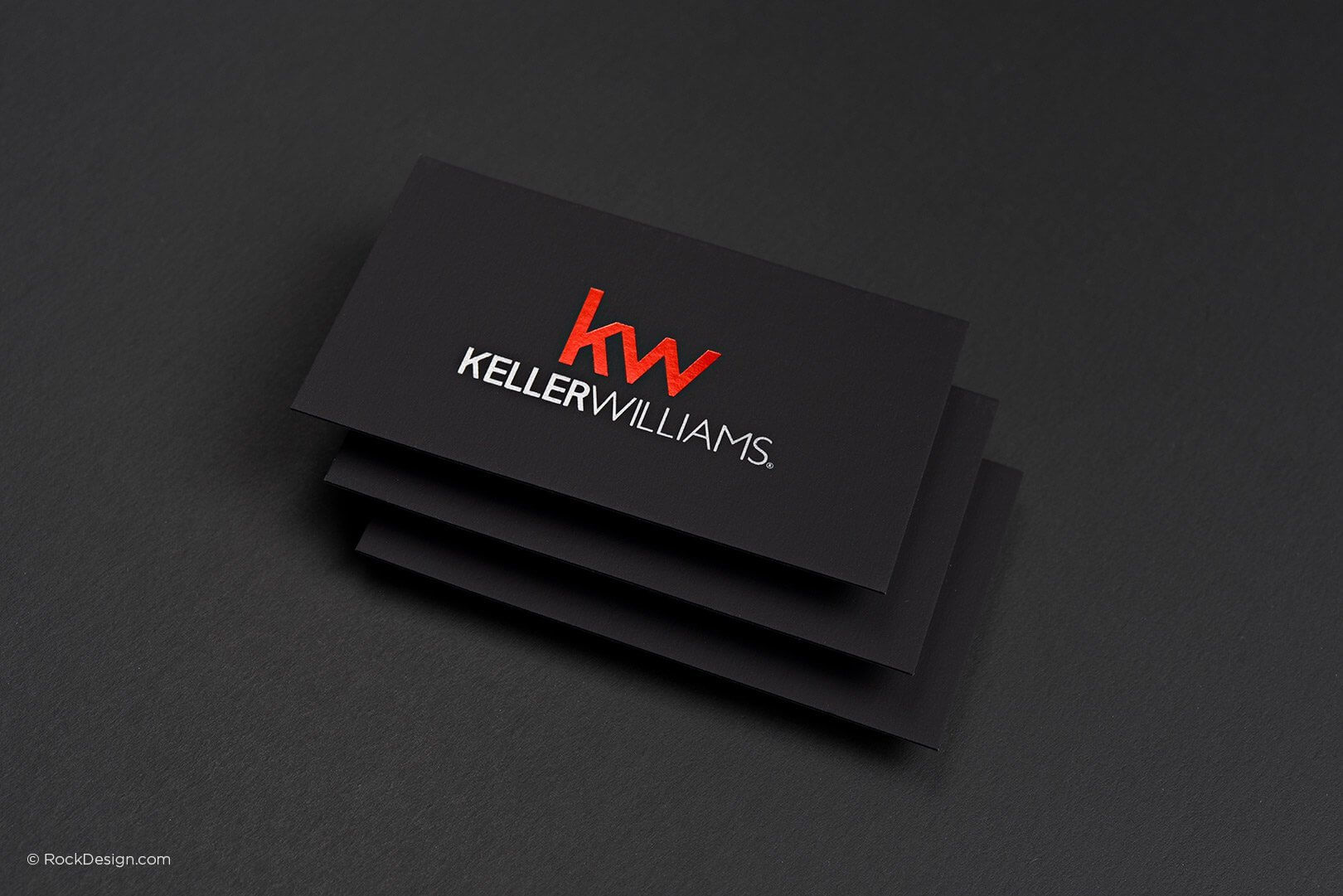 Free Keller Williams Business Card Template With Print within Real Estate Business Cards Templates Free
