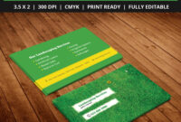 Free-Landscaping-Business-Card-Template-Psd | Free Business with Landscaping Business Card Template