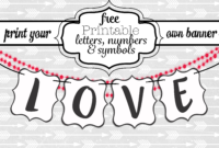Free Large Printable Letters For Banners | Theveliger pertaining to Free Letter Templates For Banners