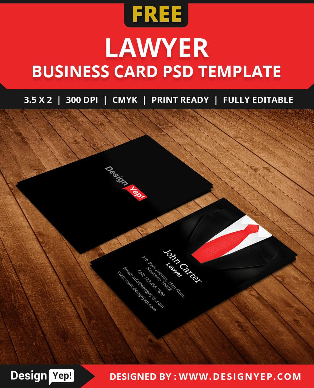 Free-Lawyer-Business-Card-Template-Psd   Free Business Card intended for Calling Card Free Template