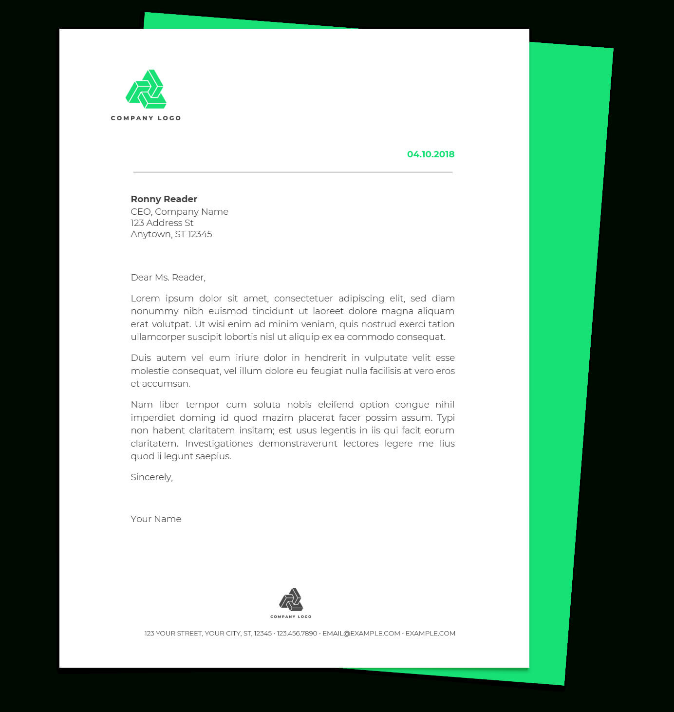 Free Letterhead Templates For Google Docs And Word in Free Letterhead Templates For Microsoft Word