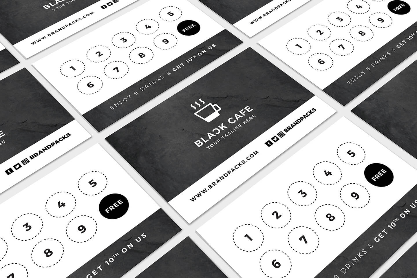 Free Loyalty Card Templates - Psd, Ai & Vector - Brandpacks in Membership Card Template Free