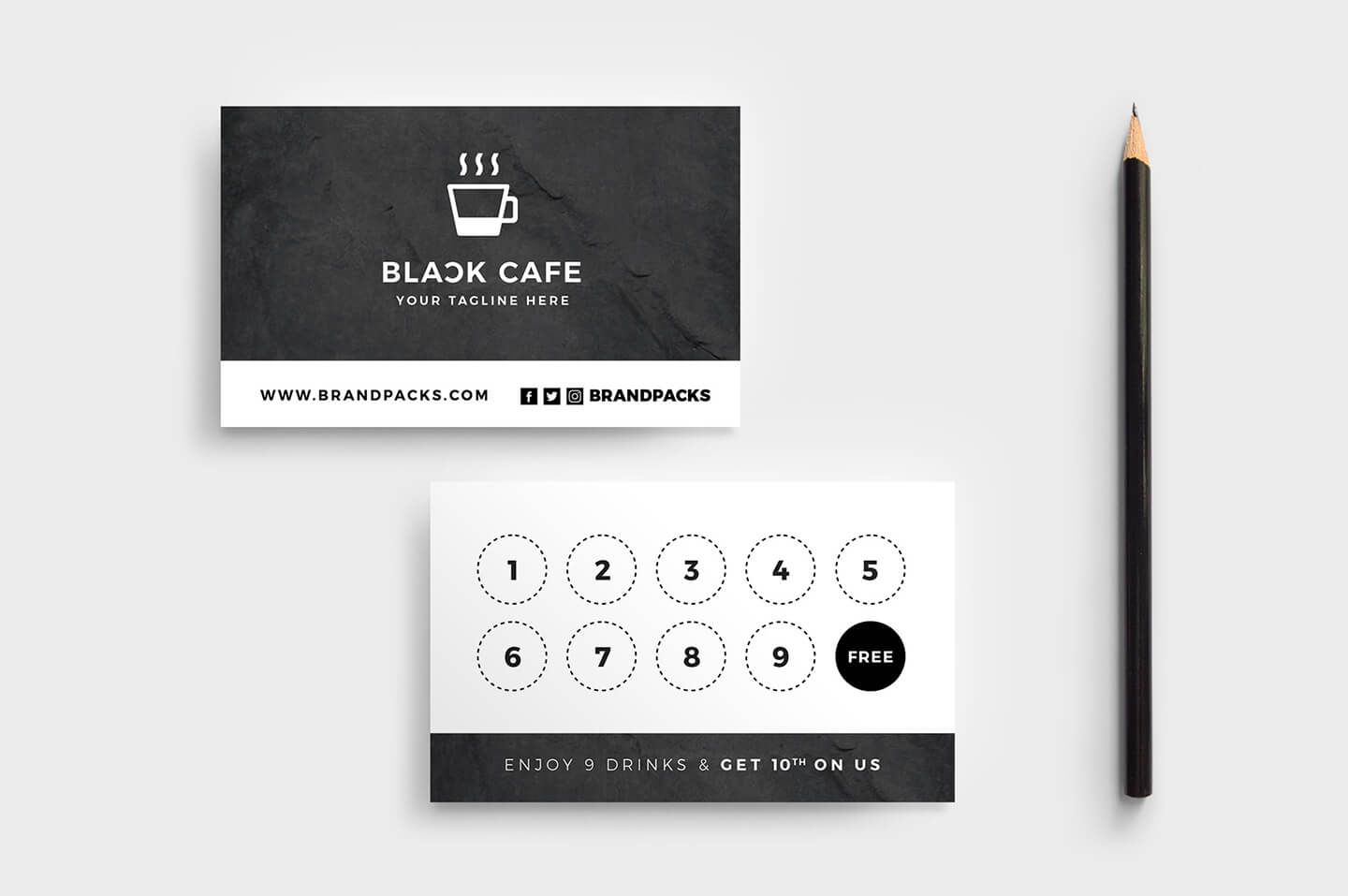 Free Loyalty Card Templates - Psd, Ai & Vector - Brandpacks intended for Membership Card Template Free