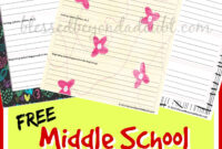 Free Middle School Printable Book Report Form! | Middle in Book Report Template Middle School