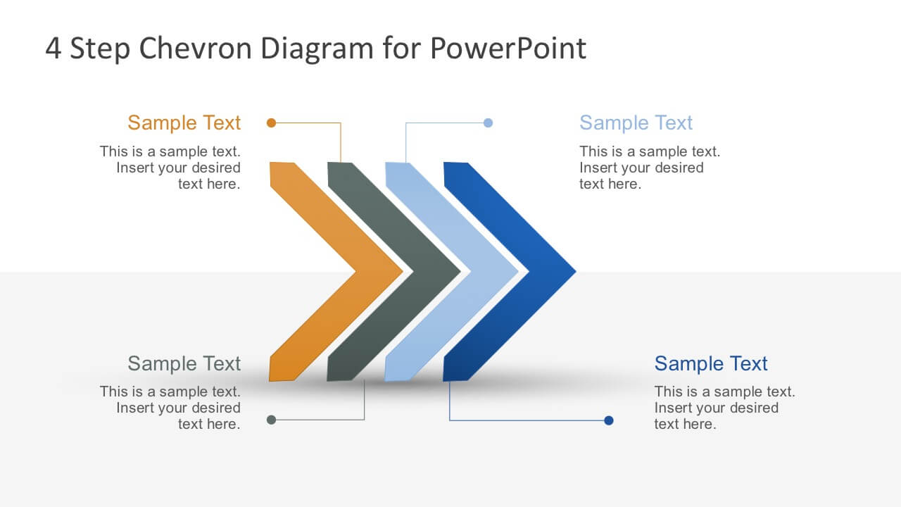 Free Modern Chevron Diagram For Powerpoint regarding Powerpoint Chevron Template