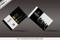 Free Modern Real Estate Business Card Psd Template | Free within Real Estate Business Cards Templates Free
