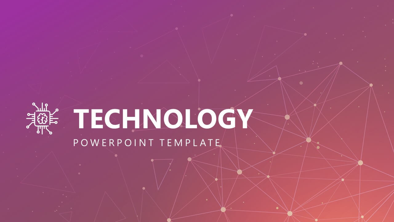 Free Modern Technology Powerpoint Template Intended For Powerpoint Templates For Technology Presentations