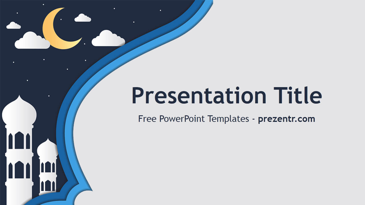 Free Mosque Powerpoint Template - Prezentr Powerpoint in Depression Powerpoint Template