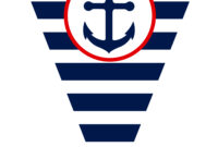Free Nautical Party Printables From Ian & Lola Designs inside Nautical Banner Template