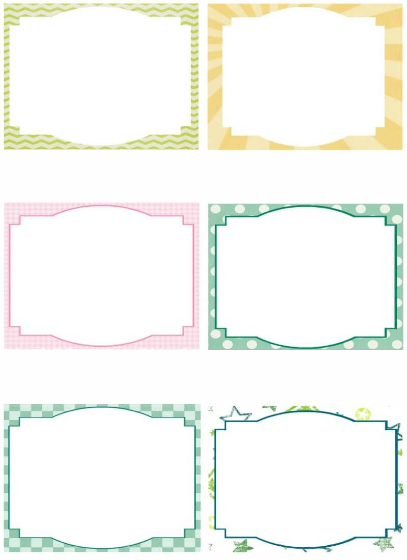 Free Note Card Template. Image Free Printable Blank Flash Throughout Blank Index Card Template