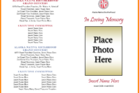 Free Obituary Template – Free Download within Free Obituary Template For Microsoft Word