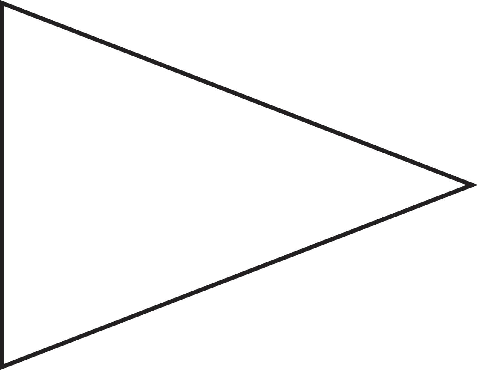 Free Pennant Banner Template, Download Free Clip Art, Free In Banner Cut Out Template