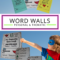 Free Personal Word Walls: Student Made Thematic Word Walls With Regard To Personal Word Wall Template