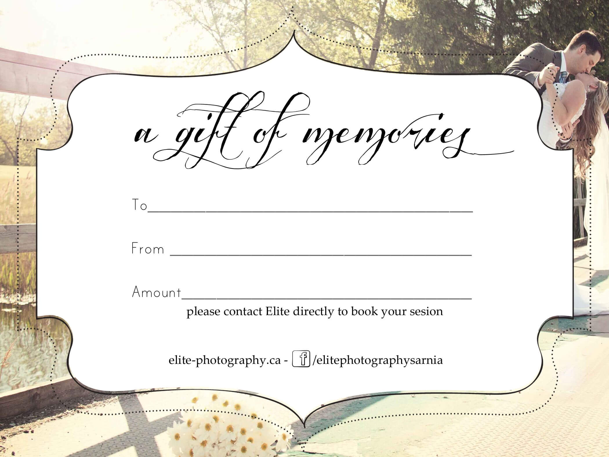 Free Photography Gift Certificate For Tattoo Gift throughout Tattoo Gift Certificate Template