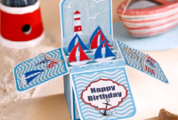 Free Pop Up Box Card Template – Simply Cards & Papercraft For Templates For Pop Up Cards Free