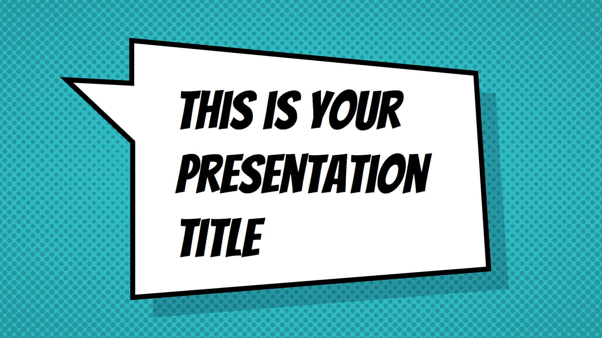 Free Powerpoint Template Or Google Slides Theme With throughout Powerpoint Comic Template