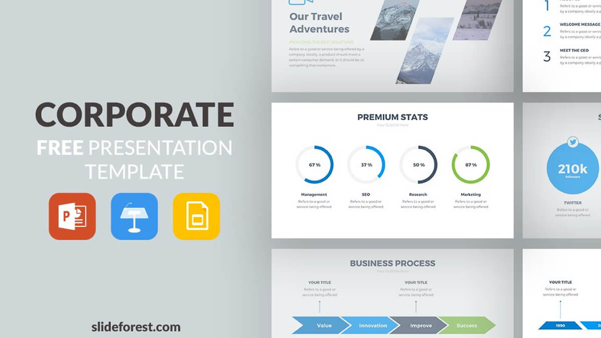 Free Powerpoint Templates Computer Science Networking throughout Powerpoint Templates For Communication Presentation
