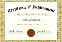 Free Printable Award Certificate Children's Templates inside First Place Award Certificate Template