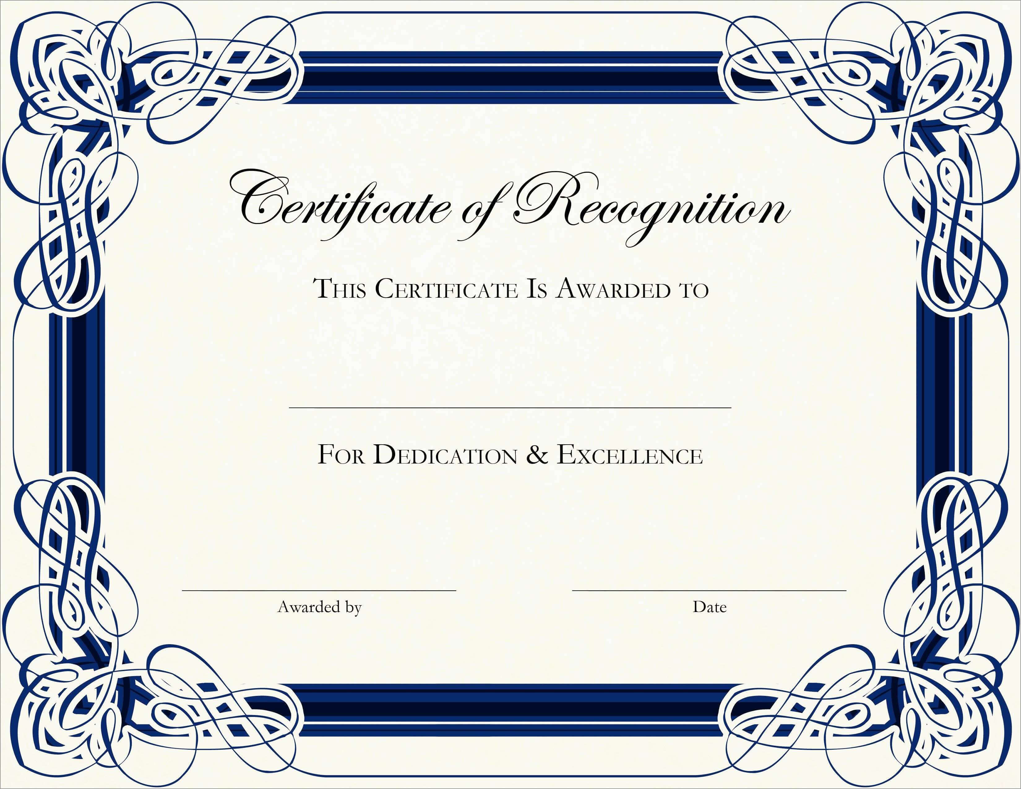 Free Printable Award Certificates For Elementary Students Throughout School Certificate Templates Free