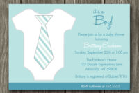 Free Printable Baby Shower Invitation — Metal Decorations within Free Baby Shower Invitation Templates Microsoft Word