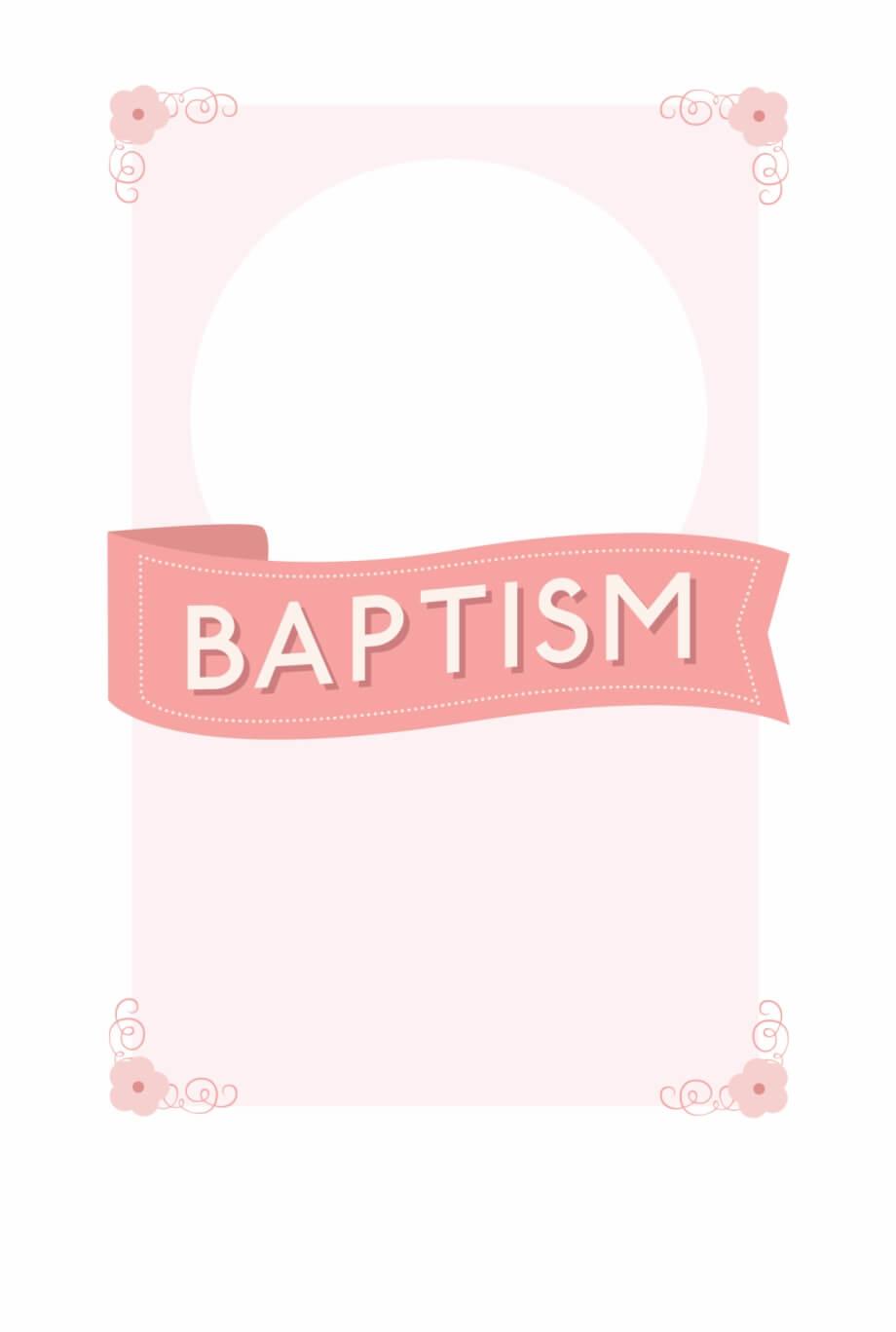 Free Printable Baptism & Christening Invitation Template with Blank Christening Invitation Templates