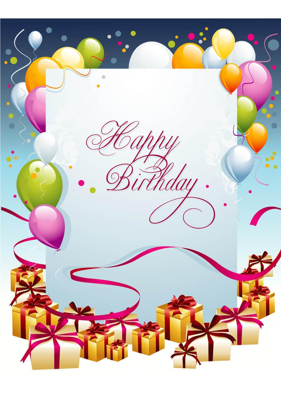 Free Printable Bday Cards Hallmark Birthday For Mom And inside Mom Birthday Card Template
