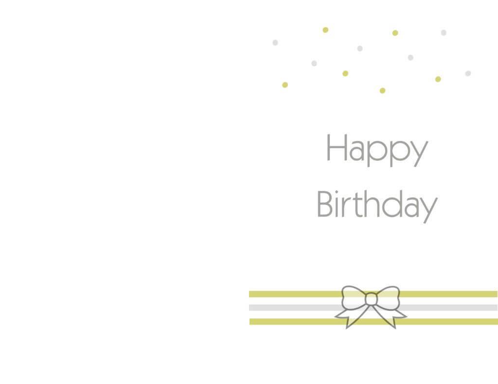 Free Printable Birthday Cards Ideas – Greeting Card Template for Mom Birthday Card Template