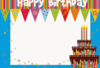 Free Printable Birthday Cards Ideas – Greeting Card Template pertaining to Free Printable Blank Greeting Card Templates