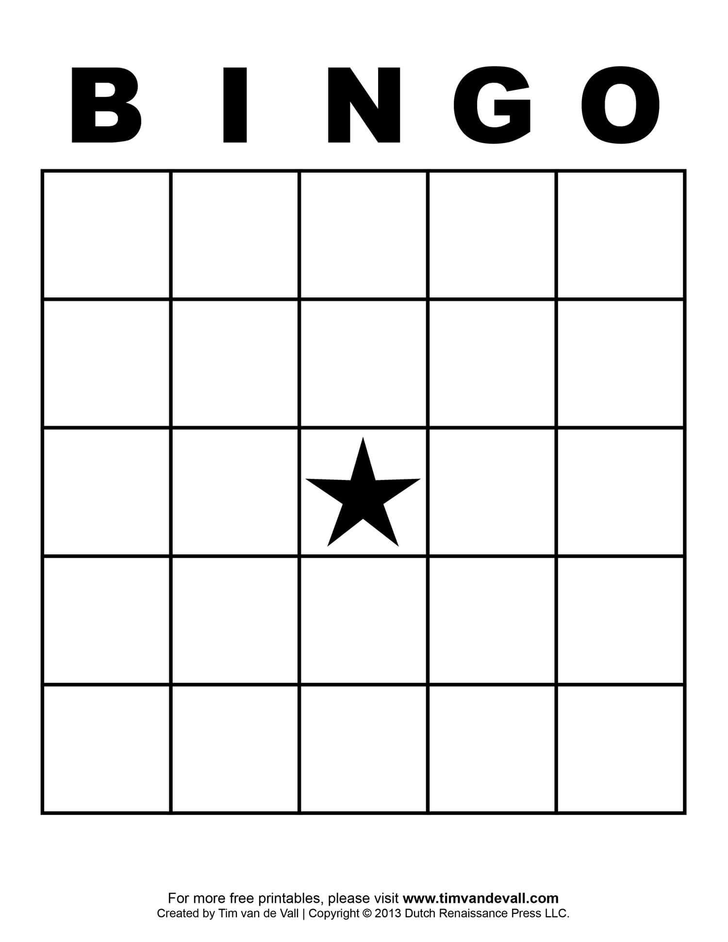 Free Printable Blank Bingo Cards Template 4 X 4 | Free Bingo With Regard To Bingo Card Template Word