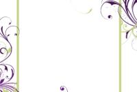 Free Printable Blank Invitations Templates | Blank Wedding for Blank Templates For Invitations