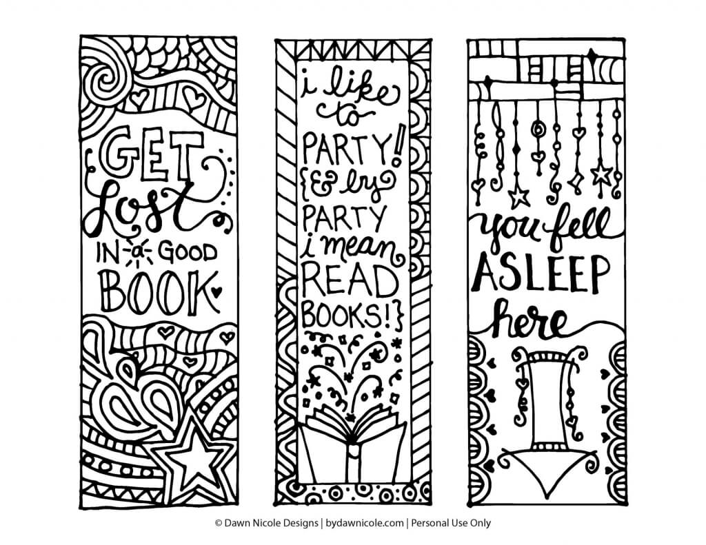 Free Printable Bookmarks Templates | Free Download Template with regard to Free Blank Bookmark Templates To Print