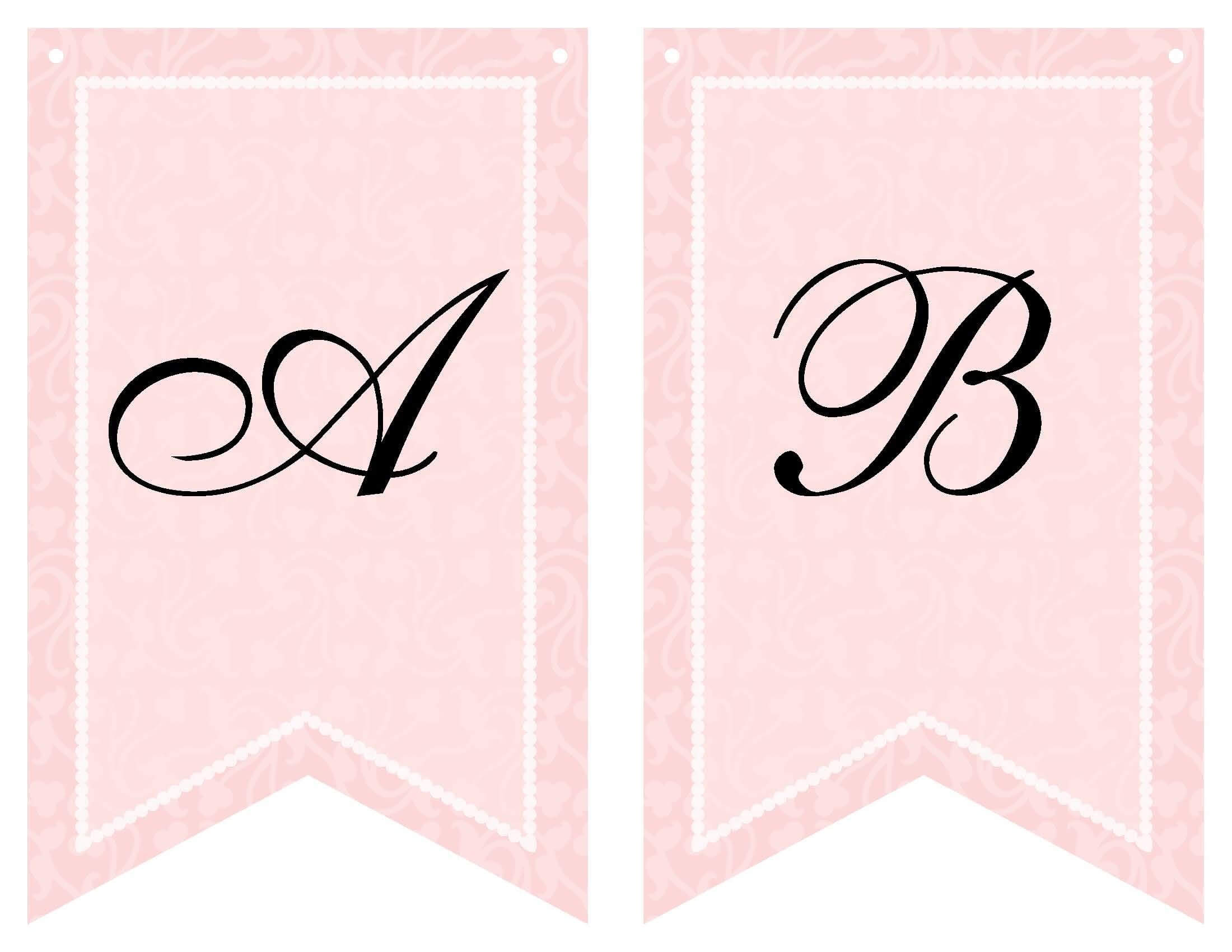 Free Printable Bridal Shower Banner | Bridal Shower Banner In Bride To Be Banner Template