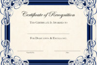 Free Printable Certificate Templates For Teachers inside Free Printable Blank Award Certificate Templates