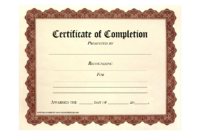 Free Printable Certificates | Certificate Templates in Free Printable Certificate Of Achievement Template